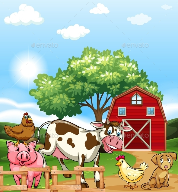 Farm Animals - Animals Characters