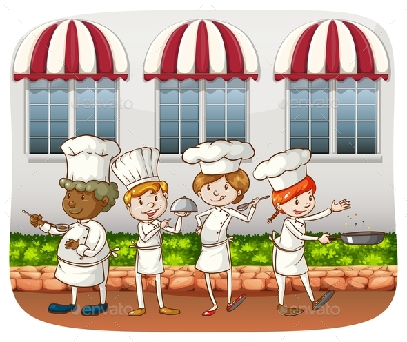 Chefs - People Characters