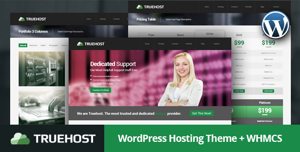 Truehost - WordPress Hosting Theme + WHMCS - Hosting Technology