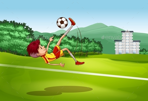 Soccer - People Characters