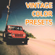 Vintage Film Color Presets - VideoHive Item for Sale