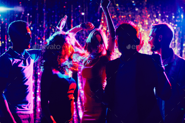 Friends dancing - Stock Photo - Images