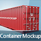 Shipping Container Mockup - GraphicRiver Item for Sale