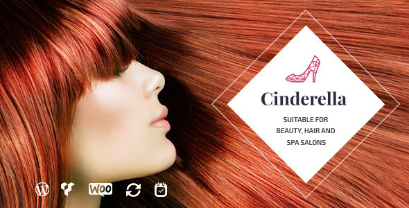 Cinderella – Beauty, Hair and Spa Salon WordPress Theme