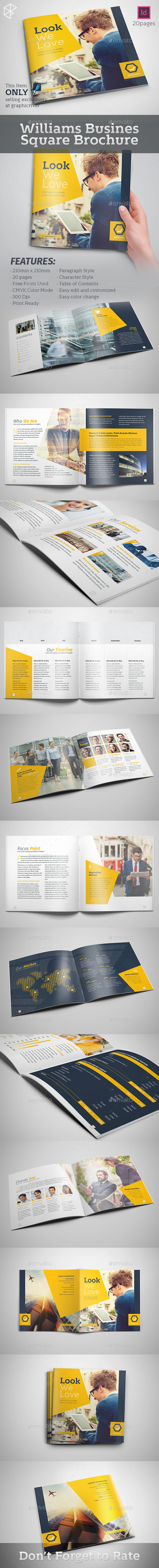 Williams Business Square Brochure - Corporate Brochures