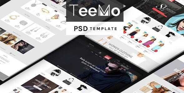 Teemo – PSD Template