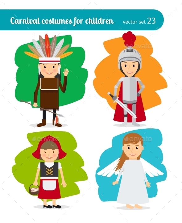 Children Costumes - People Characters