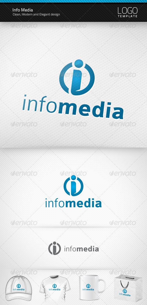 Info Media Logo - Letters Logo Templates