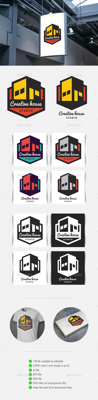 Creative House Logo - Logo Templates