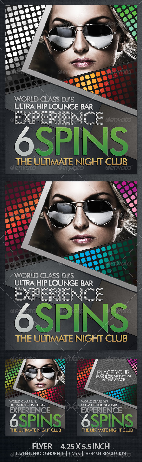 Stylish Club or Party Flyer - Clubs & Parties Events