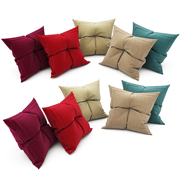 Pillows collection 84 - 3DOcean Item for Sale