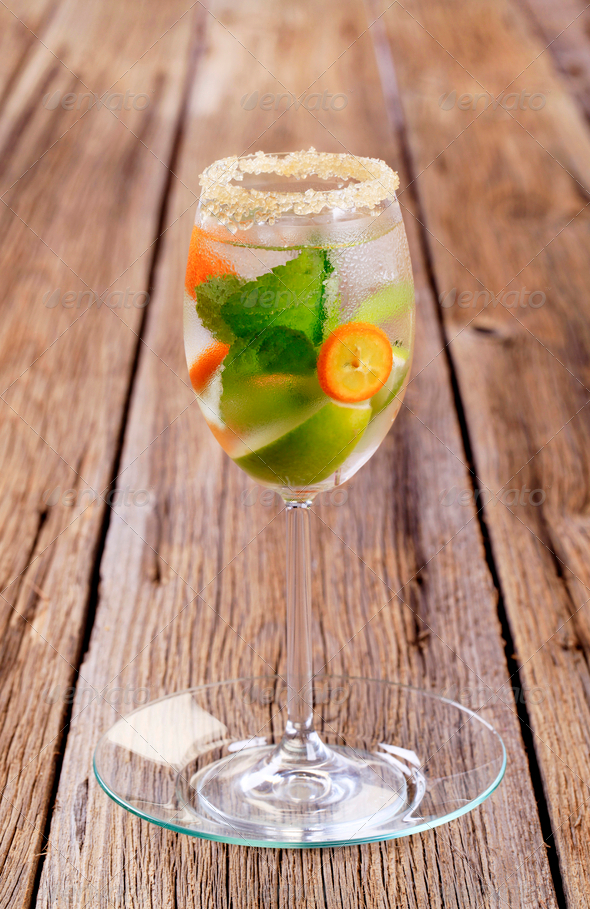 Cocktail drink - Stock Photo - Images