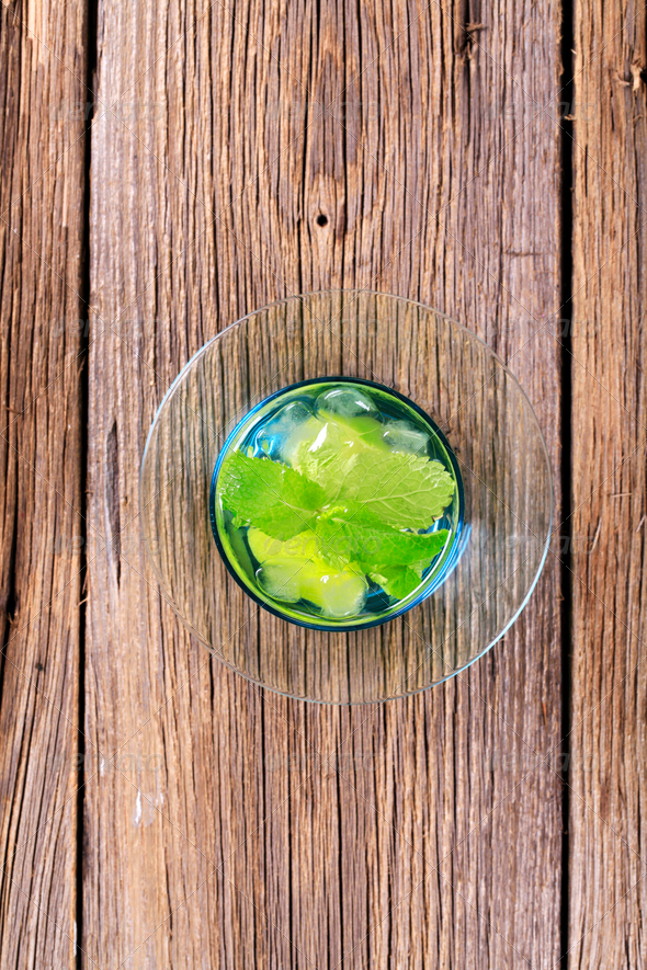 Glass of Mojito - Stock Photo - Images
