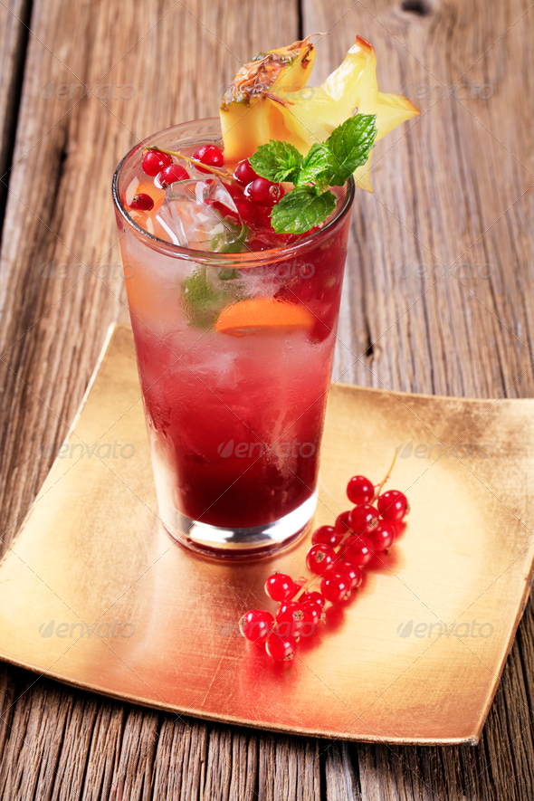 Iced drink - Stock Photo - Images