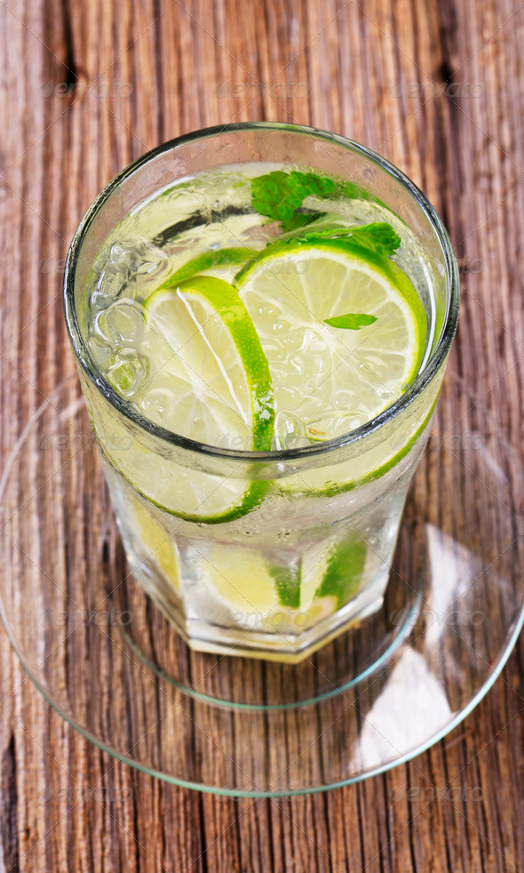 Glass of cold drink - Stock Photo - Images