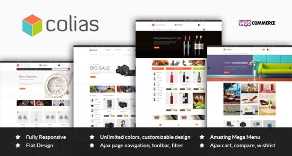 Ri Colias – Responsive WooCommerce Theme
