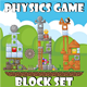 Physics Game Block Set - GraphicRiver Item for Sale