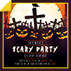 Halloween Scary Party - GraphicRiver Item for Sale