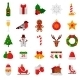 Set Of Flat Christmas Icons. - GraphicRiver Item for Sale
