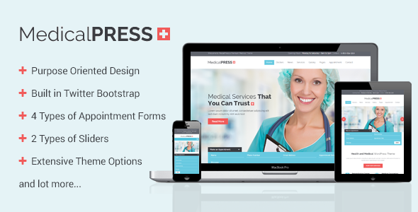 25+ Best Dental Care and Dentist WordPress Themes 2019 11