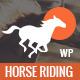 Happy Rider - Horse-Riding School WordPress Theme Nulled