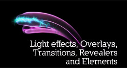 Light Rays Effects, Overlays, Transitions and Elements