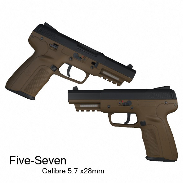 Five-Seven - 3DOcean Item for Sale