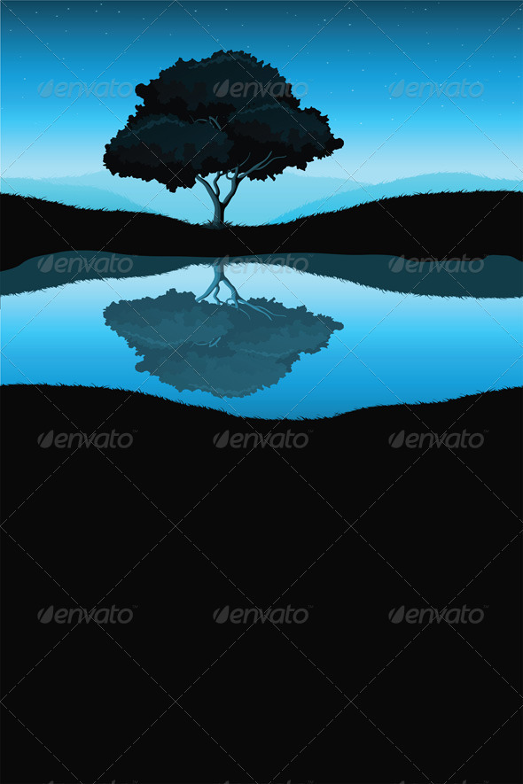 Nature Landscape with Tree - Landscapes Nature
