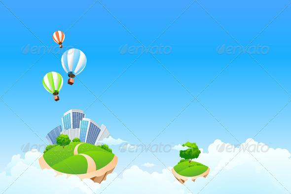 Fantasy Background - Landscapes Nature
