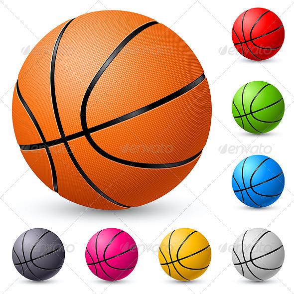 Basketball - Characters Vectors