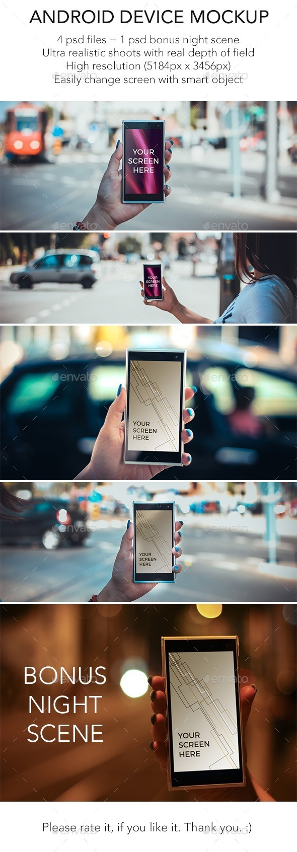Android In The City - Mobile Displays