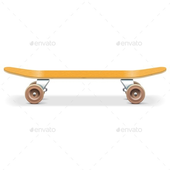 Vector Skateboard - Sports/Activity Conceptual