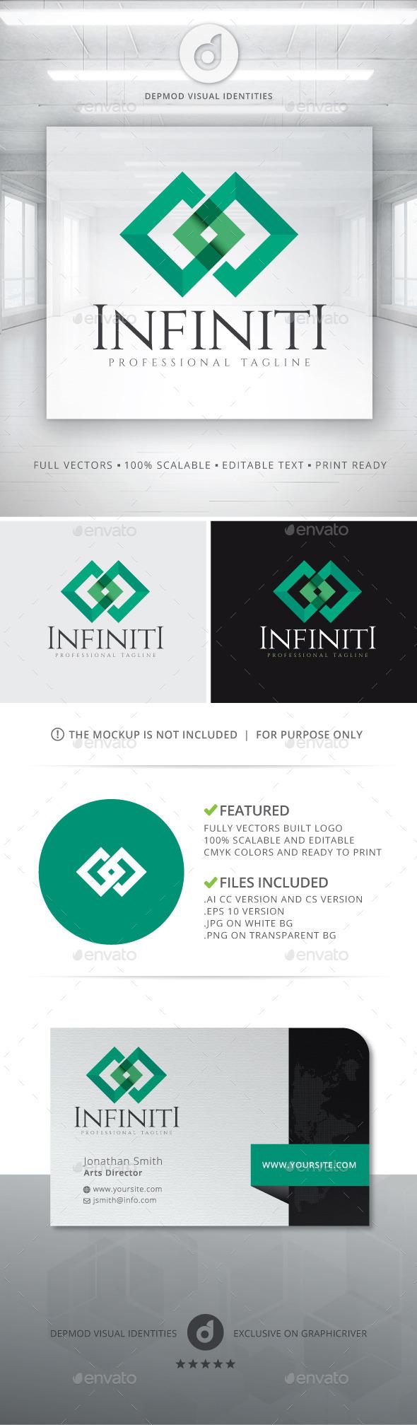 Infiniti Logo - Abstract Logo Templates