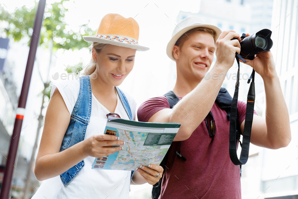 New places to explore - Stock Photo - Images