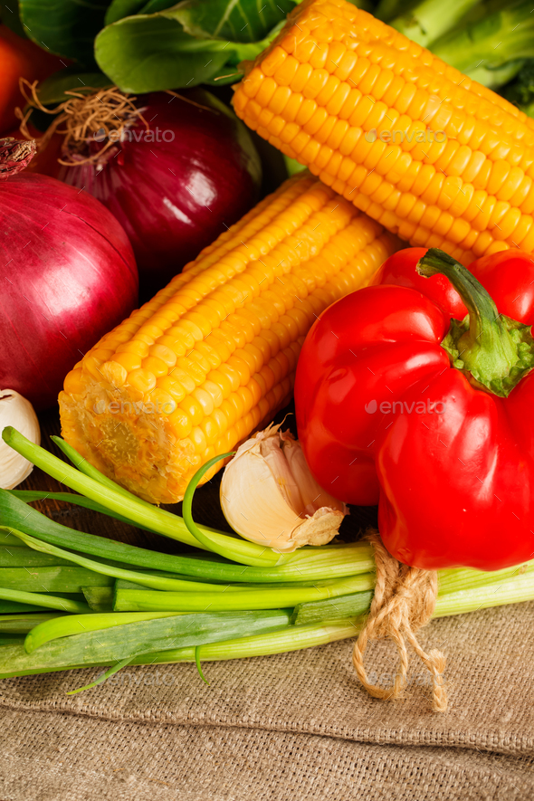 Big set of vegetables - Stock Photo - Images