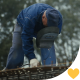 Welder With Mask on Construction Site - VideoHive Item for Sale