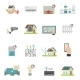Smart House Icons Set - GraphicRiver Item for Sale
