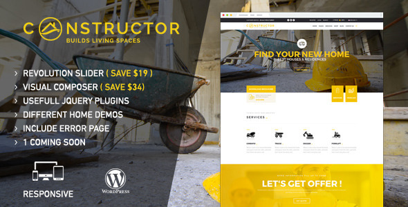 Constructor | WordPress Theme - Corporate WordPress