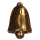 Golden And Silver Christmas Bell  - VideoHive Item for Sale