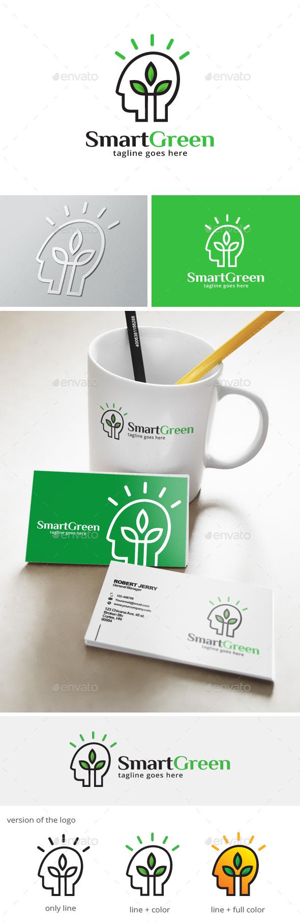 Think Green Logo - Humans Logo Templates