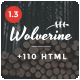 Wolverine - Multipurpose HTML5 Template Nulled