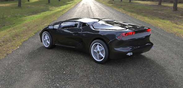 Lamborghini Hurricane Concept   - 3DOcean Item for Sale