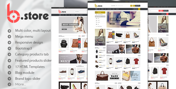 BStore - Responsive eCommerce HTML5 Template - Fashion Retail
