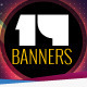 14 Party Themed Web Marketing Banners - GraphicRiver Item for Sale