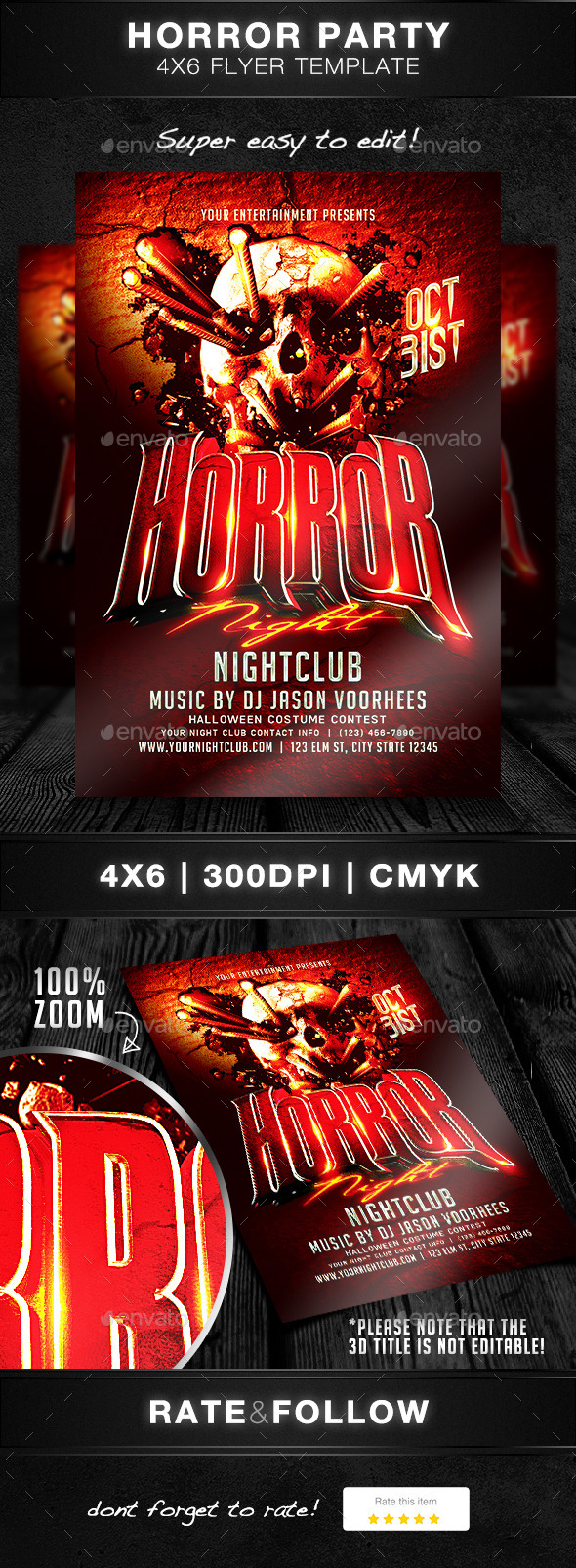 Horror Halloween Party - Clubs & Parties Events