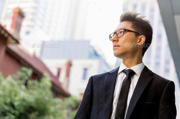 Serious about my business - Stock Photo - Images