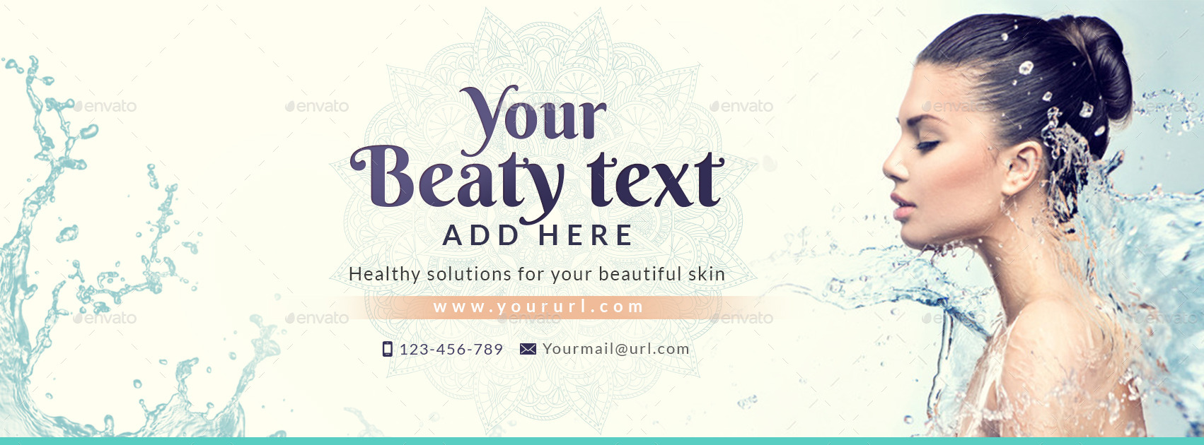 beauty care facebook cover by doto graphicriver