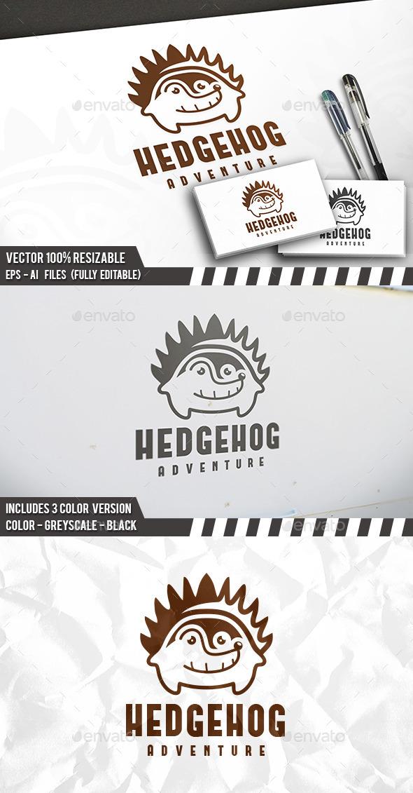 Hedgehog Logo Template - Animals Logo Templates