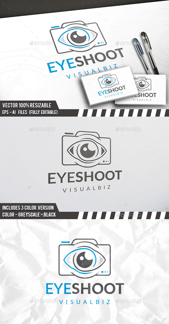 Photo View Logo - Objects Logo Templates