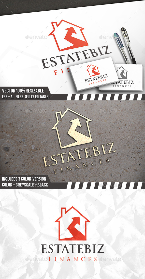Real Estate Invest Logo - Buildings Logo Templates